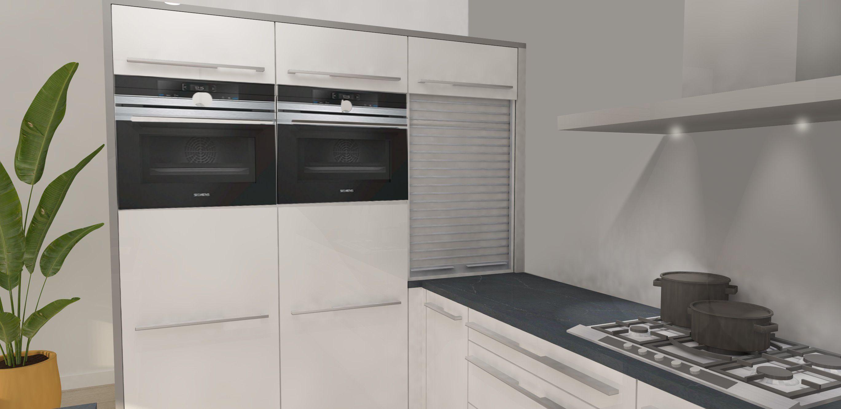 Volledig nieuwe SieMatic keuken met eiland